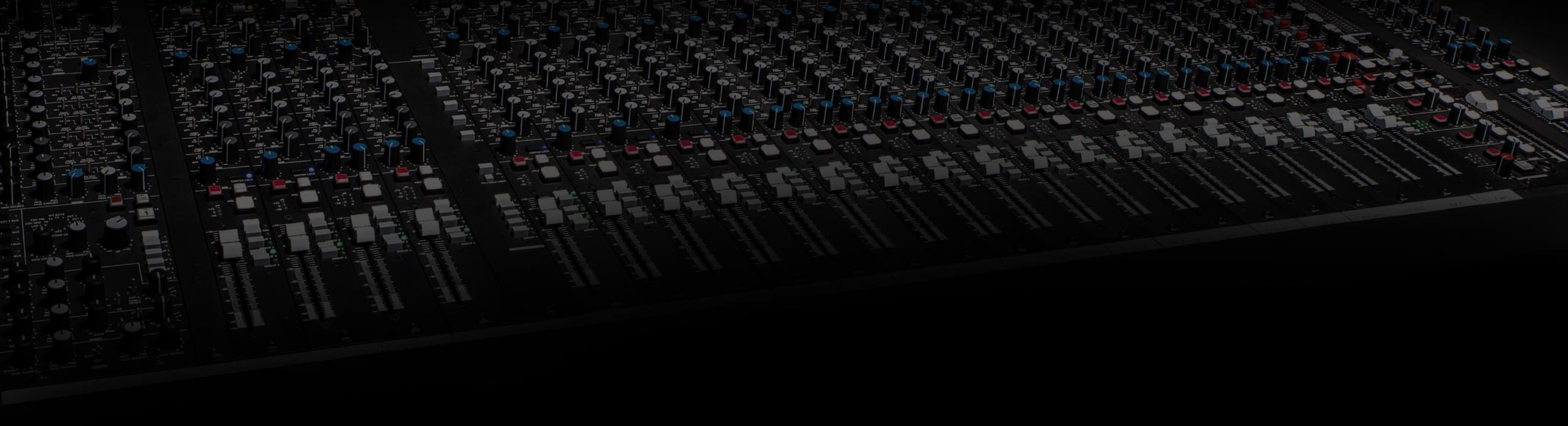 AM1 Mixing Console Product Shot