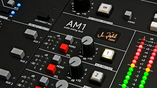 Product teaser AM1 mixing console
