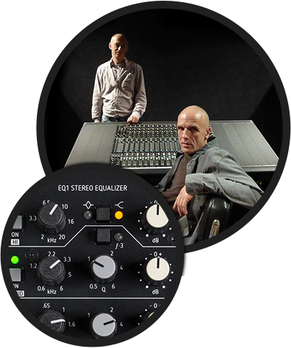 Michael Zähl and Mark Ernestus EQ1
